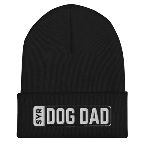 'SYR Dog Dad' Cuffed Beanie
