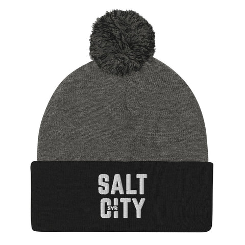 'Salt City' Pom-Pom Beanie