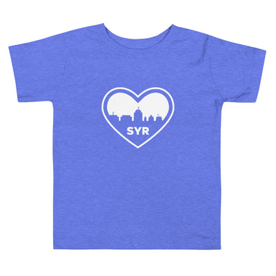 'City Heart' Toddler Short Sleeve Tee