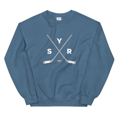 'SYR Hockey Sticks' Unisex Sweatshirt