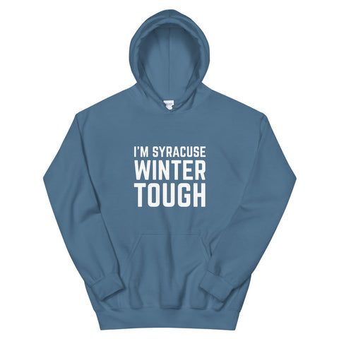 'Syracuse Winter Tough' Unisex Hoodie