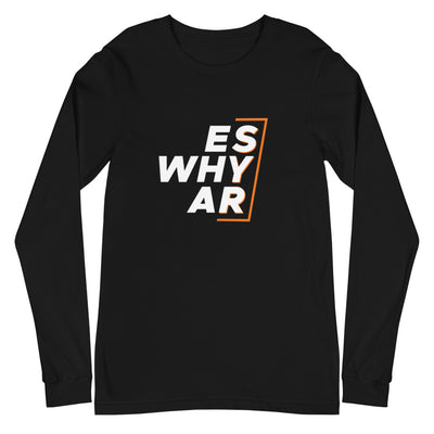 'Es Why Ar' Unisex Long Sleeve Tee