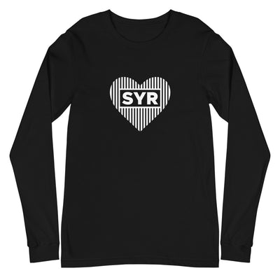 'Styled SYR Heart' Unisex Long Sleeve Tee