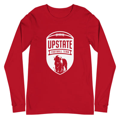 'Upstate Football Team' Premium Unisex Long Sleeve Tee