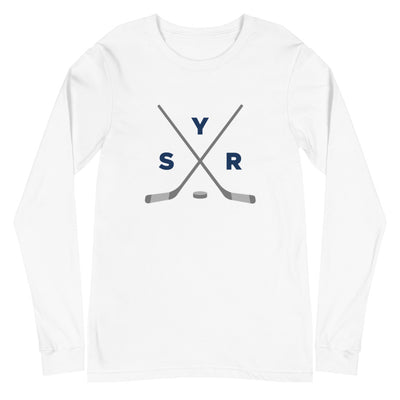 'SYR Hockey Sticks' Unisex Long Sleeve Tee