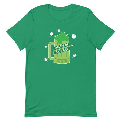 'Here for the Green Beer' Unisex Premium Tee
