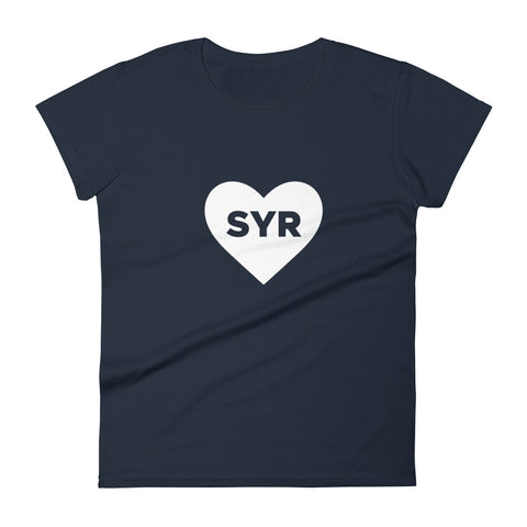 'Heart SYR' Women's Premium T-Shirt
