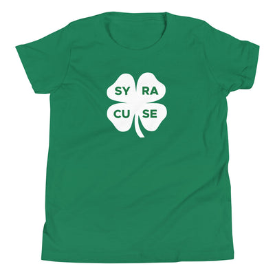 'Syracuse Shamrock' Youth Short Sleeve T-Shirt