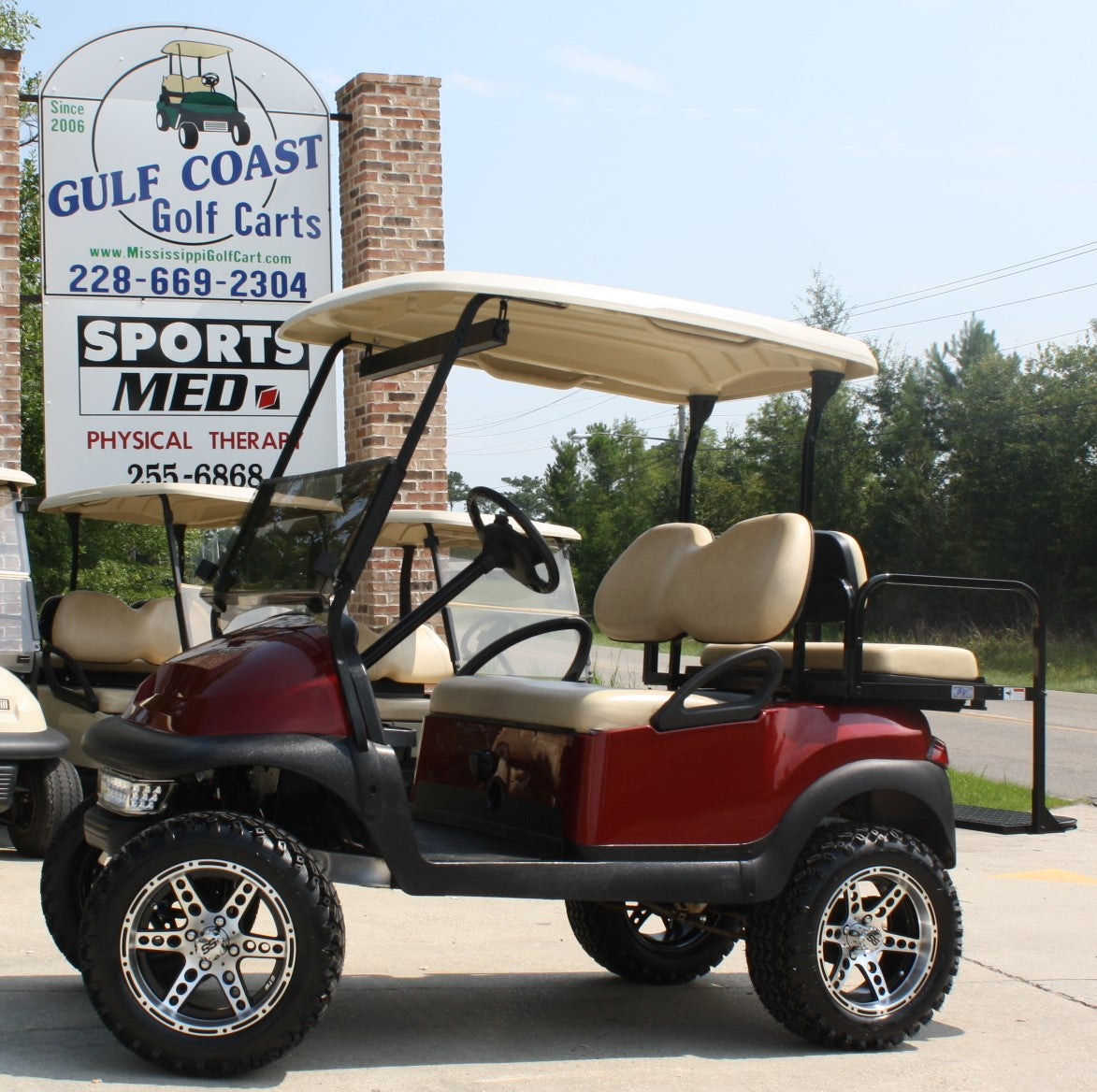 Gulf Coast Golf Carts In Stock Inventory Used Golf Carts For Sale