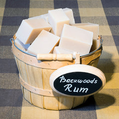 Backwoods Rum | Traditional Cold-Process Soap