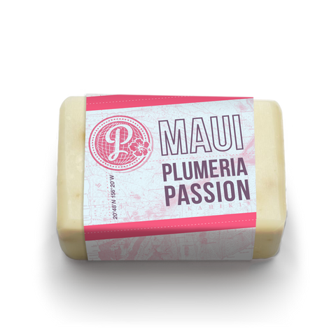 Maui Plumeria Passion - Traditional Soap