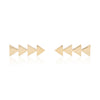 Solid Triangle Earring