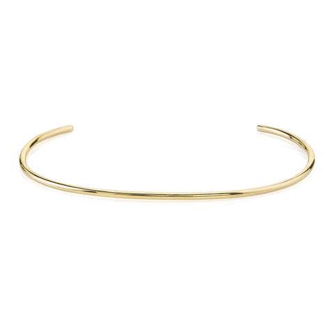 Solid Gold Thin Cuff