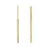 Medium Gold Stick Earring