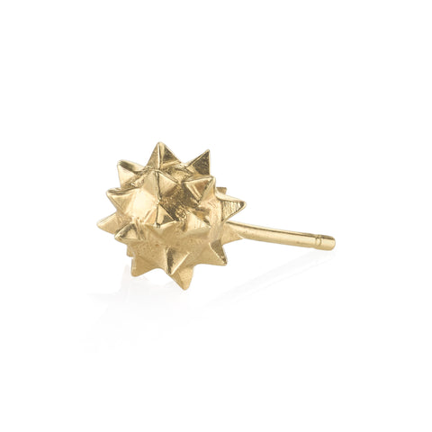 Gold Wrecking Ball Stud