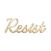 14K Gold Plated Resist Pin