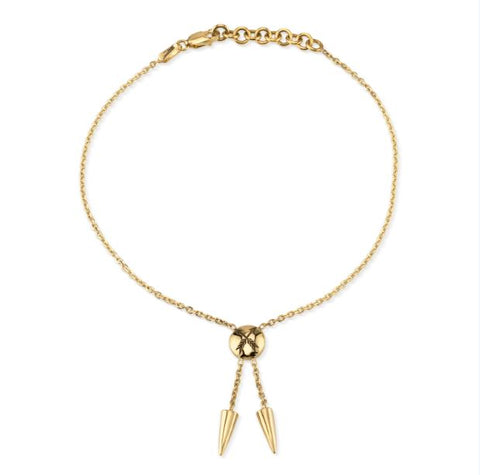 Gold Friendship Anklet