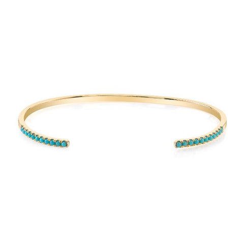 Open Turquoise Cuff