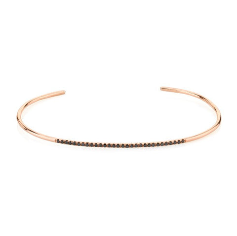 Pave Diamond Thin Cuff