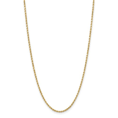 Bold Gold Rope Chain