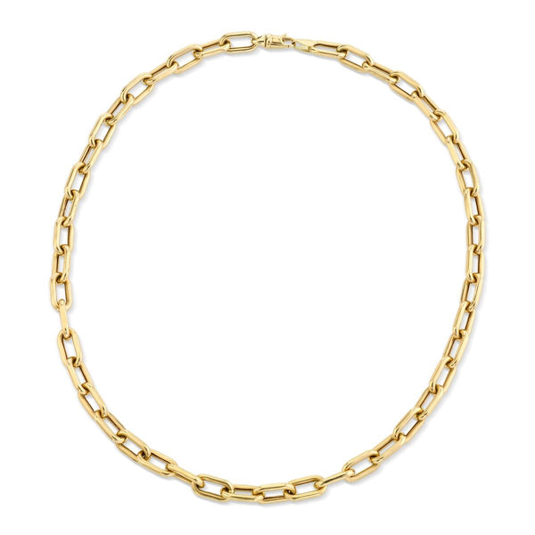 Large Classic Oval Link Chain - 7mm