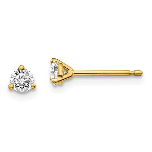 Diamond Stud Earrings - 1/4cts