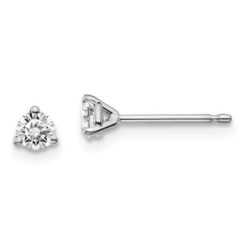 Diamond Stud Earrings - 1/2cts