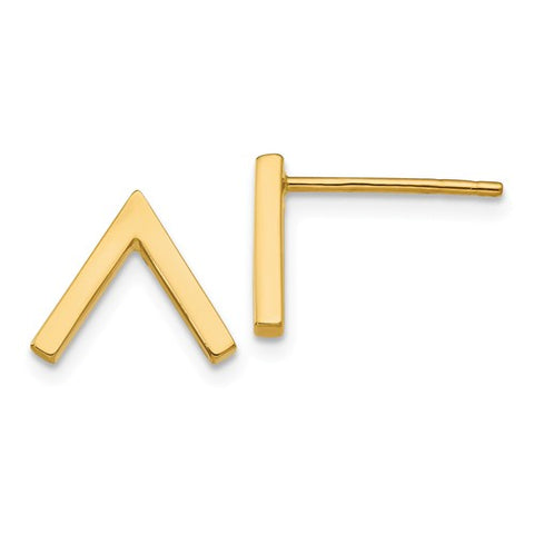 Gold Tip Earrings