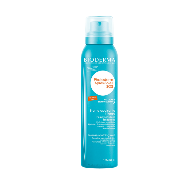 BIODERMA PURŠKIKLIS PO SAULĖS After-Sun SOS Intense Soothing Mist