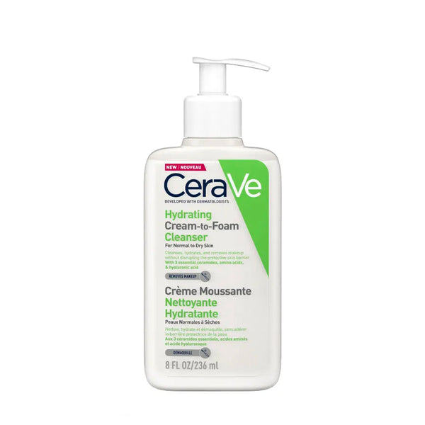 CERAVE PRAUSIKLIS Cream to Foam Cleanser