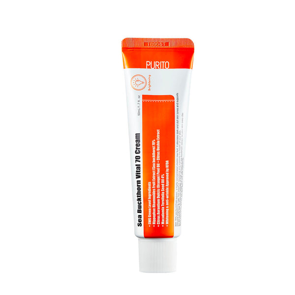 PURITO DRĖKINAMASIS KREMAS Sea Buckthorn Vital 70 Cream