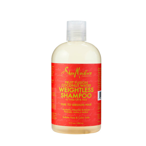 SHEA MOISTURE ŠAMPŪNAS Fruit Fusion Coconut Water Weightless Shampoo