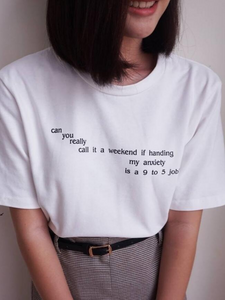 Anxiety T-Shirt - HipStore - Fashion Boutique