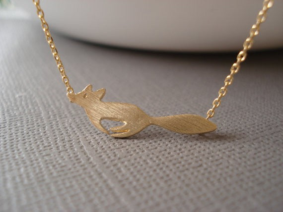 Tiny Fox Necklace - HipStore - Fashion Boutique