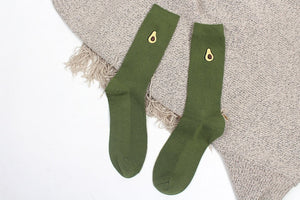 Fruit and Avocado Socks - HipStore - Fashion Boutique
