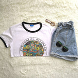 Psychedelic T-shirt - HipStore - Fashion Boutique