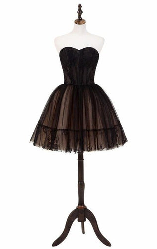 Black Lace Homecoming Dress - HipStore - Fashion Boutique