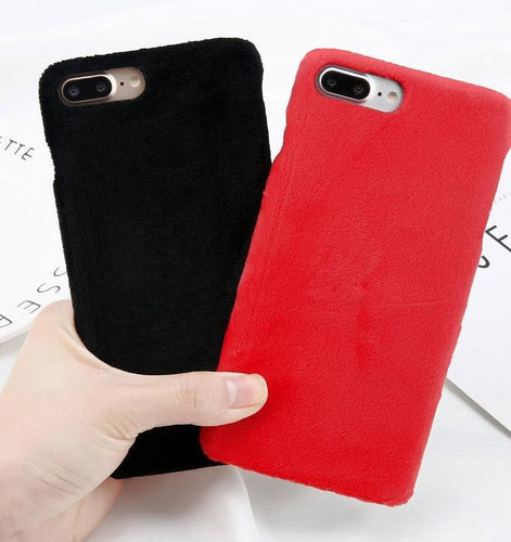 Plush Phone Case - HipStore - Fashion Boutique