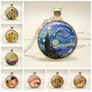 Paintings Necklace - HipStore - Fashion Boutique