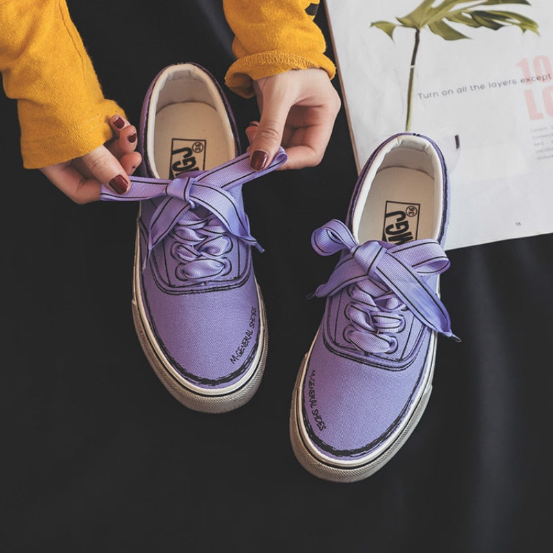 Painted Sneakers - HipStore - Fashion Boutique