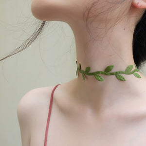 Leaves Choker - HipStore - Fashion Boutique