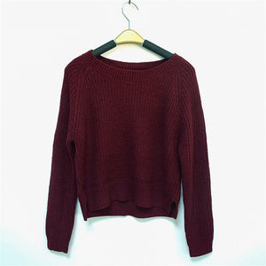O-Neck Sweater - HipStore - Fashion Boutique