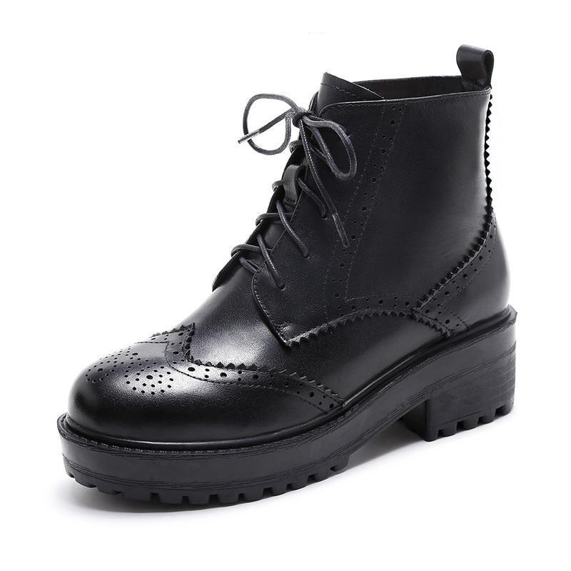 Women's Oxford Boots