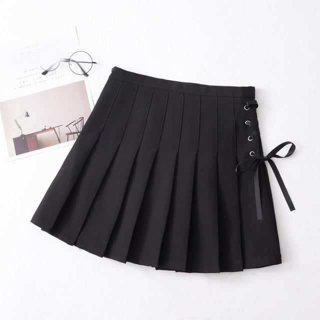 Side Lace Skirt - HipStore - Fashion Boutique