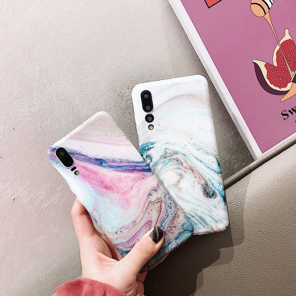 Marble Huawei Case - HipStore - Fashion Boutique