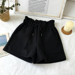 High Waist Loose Shorts - HipStore - Fashion Boutique