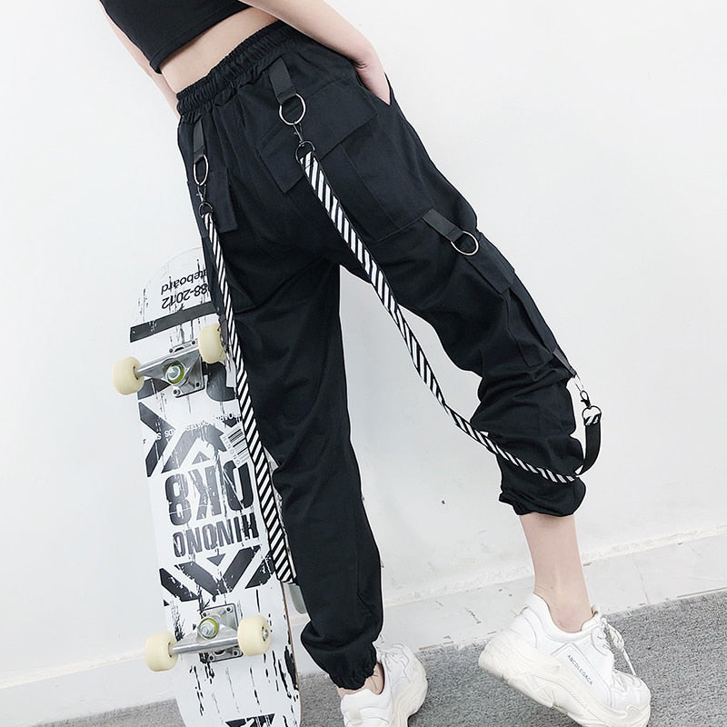 Long Suspender Pants