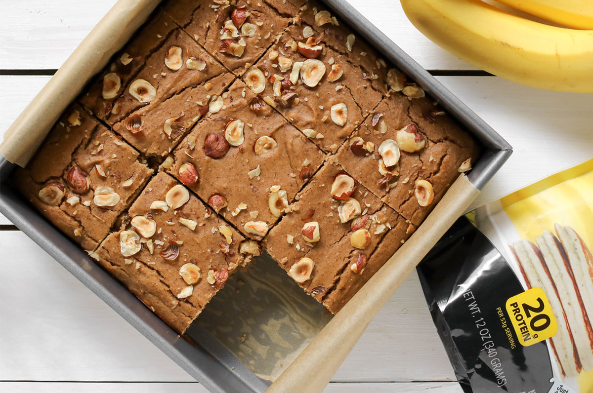 Banana Nut Blondies