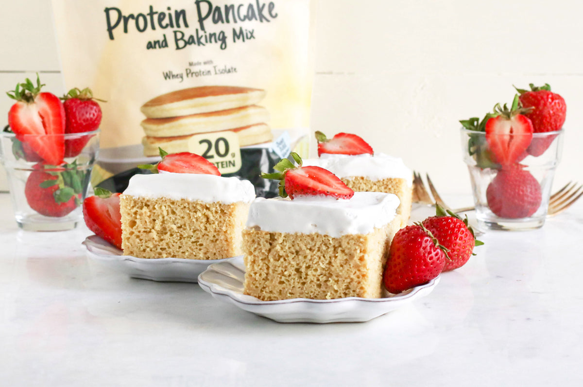 FlapJacked Tres Leches Cake