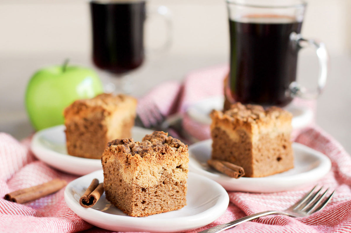 Cinnamon Apple Crumb Cake Recipe Flapjacked